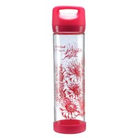 "Pink ""All Things Are Possible"" Tall Glass Drink / Water Bottle - Matthew 19:26:Amazon:Sports & Outdoors"