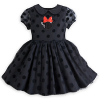 Minnie Mouse Party Dress for Girls - Black