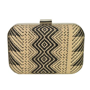 Tribal Clutch Bag (Black)