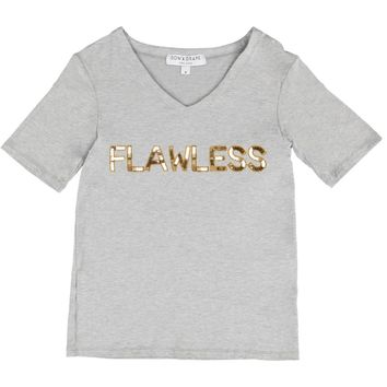 flawless, beyonce, tee, shirt, v-neck, v neck, gold, custom, quote, woke up like this, music, sequin, wording, text,