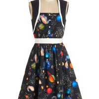 Bea & Dot Cosmic Sleeveless A-line You're Out of th