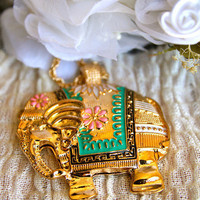Elegant Elephant Necklace | Trinkettes