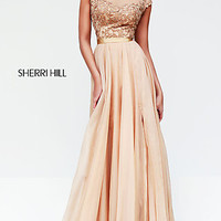 Sherri Hill Red Evening Gown for Prom