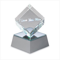&#x27;i Love You Mom&#x27; Lighted Cube  Model: 36371 - Night Lights