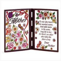 Poetic Plaque To Mom  22506 - Flags