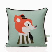 Ferm Living - Marionette Mr. Frank Fox Pillow 7515 at 2Modern