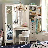 Hampton Vanity Tower &amp; Super Set | PBteen