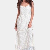 Global Travels Maxi Dress