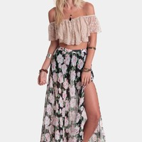 Midnight Wonder Maxi Skirt