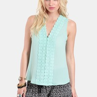 Call Back Crochet Detail Top