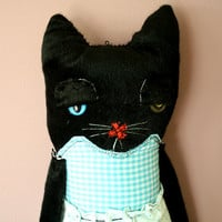 Alice the Cat art doll Plush By ThEm DoLLz by ARTOFME on Etsy