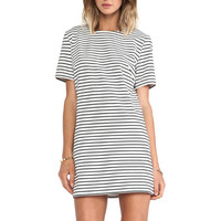 The Motion Dress in Stripe