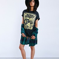 Black Sabbath Tee Dress - Urban Outfitters