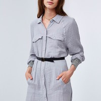 BDG Erica Military Shirtdress - Urban Outfitters