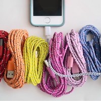 10 Foot Bungee iPhone Cable-iPhone 4 and 5