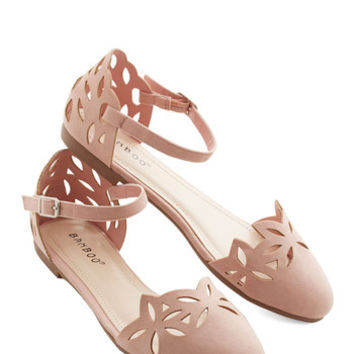 ModCloth Darling RosC) to the Occasion Flat