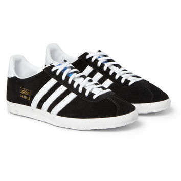 adidas Originals - Gazelle OG Suede and Leather Sneakers | MR PORTER
