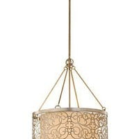 Murray Feiss Chandelier, Arabesque Uplight - Lighting & Lamps - furniture - Macy's