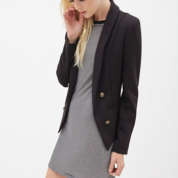 Structured Scuba Knit Blazer