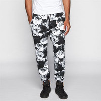 Asphalt Yacht Club Clash Mens Jogger Pants Black/White  In Sizes