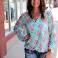 Plaid Swag {Blouse}