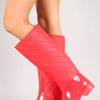 Dh1405 Jelly Thigh High Boot