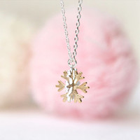 Snowflake Necklace-No.2