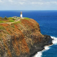 Kilauea Lighthouse  8x12 Fine Art by WhiteWolfPhotography on Etsy