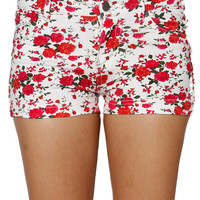Papaya Clothing Online :: FLORAL SHORTS