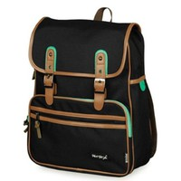kmbuy - Unique vintage Korean style Unisex Casual Fashion School Travel Backpack Bags with Laptop Lining (40cm*30cm*12cm)