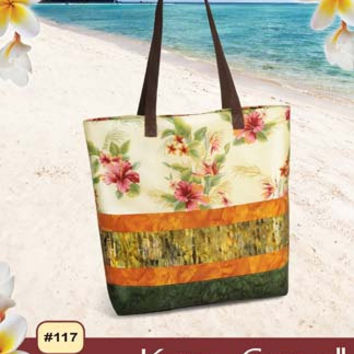 Kona Carryall, Pink Sand Beach Designs , Pattern, Craft Supply