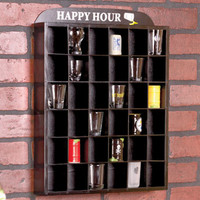 Shot Glass Display Shelves