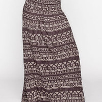 Billabong Don't Mind Maxi Skirt Off-Black  In Sizes