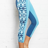 Tie-Dye Cropped Yoga Leggings