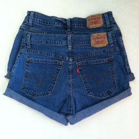 Levi Strauss High Waisted Cutoff Shorts