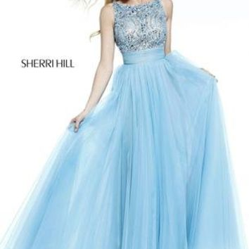 Prom Dresses 2014 - Sherri Hill 11022 Beaded Long