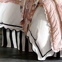 The Emily + Meritt Circus Stripe Bedskirt