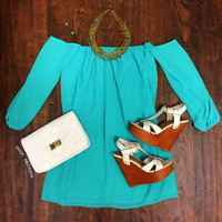 Weekend Update Dress - Mint
