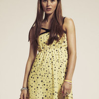 DahliaBow Front Star Print Dress