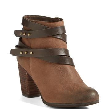 BP. 'Train' Wrap Belted Bootie (Women)