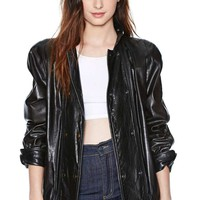 Fendi Sin City Leather Jacket