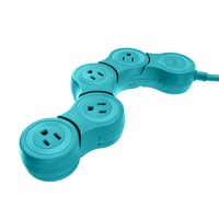 Quirky PPVJP-TL01 Pivot Power POP Junior, Teal