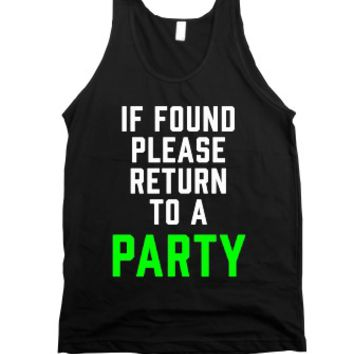 If Found, Please Return To A Party