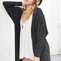 BDG Slouchy Hooded Cardigan-