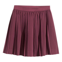H&M Pleated skirt £12.99