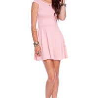 Pretty Penny Dress in Pink :: tobi