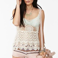 Tiered Crochet Tank in Clothes Tops at Nasty Gal