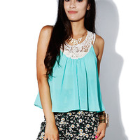Papaya Clothing Online :: LACY CHIFFON TOP