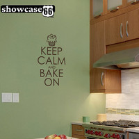 Keep Calm and Bake On Vinyl Wall Art FREE Shipping by showcase66