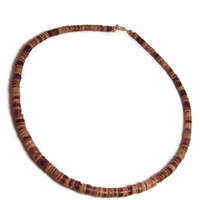 Coconut Shell Mens Necklace